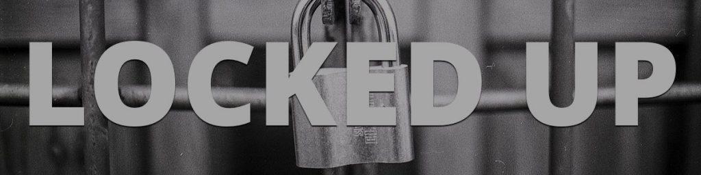 Locked up padlock and chain