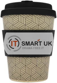 IT Smart branded coffee cup